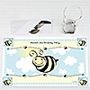 Cute-As-Can-BEE - Personalized Birthday Party Placemats