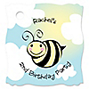 Cute-As-Can-BEE - Personalized Birthday Party Tags - 20 ct