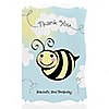 Cute-As-Can-BEE - Personalized Birthday Party Thank You Cards