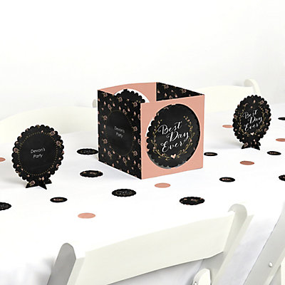 Best Day Ever - Bridal Shower Table Decorating Kit