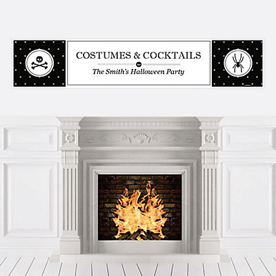 Personalize | Halloween | Banner | Party