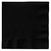 Black - Baby Shower Luncheon Napkins - 50 pack