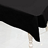 Black - Baby Shower Plastic Tablecovers