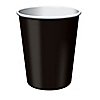 Black - Birthday Party Hot/Cold Cups 24 ct