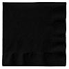 Black - Bridal Shower Luncheon Napkins - 50 ct