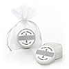 Delicate Blessings Cross - Personalized Baptism Lip Balm Favors