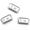 Delicate Blessings Cross - Personalized Baptism Mini Candy Bar Wrapper Favors - 20 ct