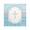 Blessings Blue - Baptism Beverage Napkins - 16 ct