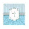 Blessings Blue - Baby Shower Dessert Plates - 8 ct