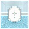 Blessings Blue - Baby Shower Dinner Plates - 8 ct