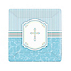 Blessings Blue - Baptism Dessert Plates - 8 ct