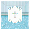 Blessings Blue - Baptism Dinner Plates - 8 ct