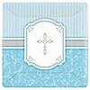 Blessings Blue - Baptism Dinner Plates - 8 ct