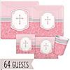 Blessings Pink - Baby Shower 64 Big Dot Bundle