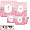 Blessings Pink - Baptism 16 Big Dot Bundle