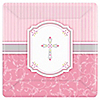 Blessings Pink - Baptism Dinner Plates - 8 ct