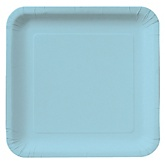 Blue - Baby Shower Dinner Plates - 18 Pack