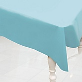 Blue - Baby Shower Plastic Table Cover