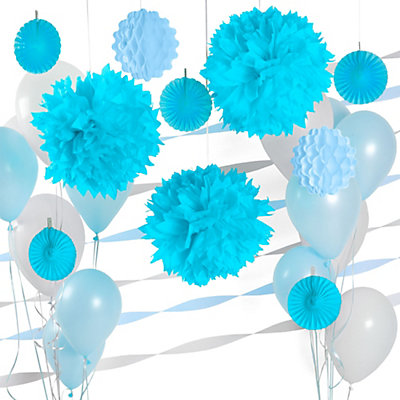 Blue baby shower decorations best baby decoration for Baby blue wedding decoration ideas