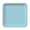 Blue - Bridal Shower Dessert Plates - 18 ct