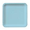 Blue - Bridal Shower Dessert Plates - 18 ct