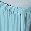 Blue - Bridal Shower Plastic Table Skirts