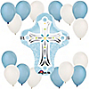 Blue Cross - Baby Shower Balloon Kit