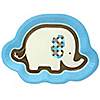 Blue Baby Elephant  - Baby Shower Dinner Plates - 8 ct