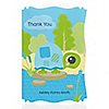 Blue Baby Turtle - Personalized Baby Shower Thank You Cards