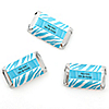 Blue Zebra - Personalized Birthday Party Mini Candy Bar Wrapper Favors - 20 ct
