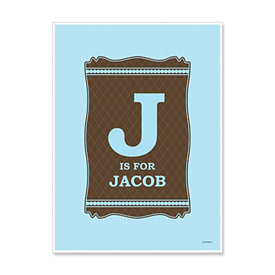 Baby Boy - Personalized Baby Shower Poster Gifts