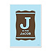 Baby Boy - Personalized Baby Shower Poster Gift