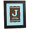 Baby Boy - Personalized Baby Shower Wall Art Gift
