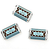 Modern Boy First Birthday Party - Personalized Birthday Party Mini Candy Bar Wrapper Favors - 20 ct