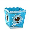 Boy Baby Carriage - Personalized Baby Shower Candy Boxes