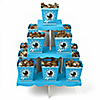 Boy Baby Carriage - Baby Shower Candy Stand and 13 Candy Boxes