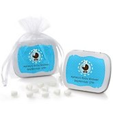 Boy Baby Carriage - Mint Tin Personalized Baby Shower Favors