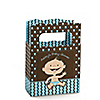 Modern Baby Boy Caucasian - Personalized Baby Shower Mini Favor Boxes