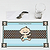 Modern Baby Boy Caucasian - Personalized Baby Shower Placemats