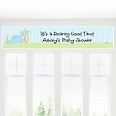 Baby Boy Dinosaur - Personalized Baby Shower Banner