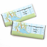 Baby Boy Dinosaur - Personalized Baby Shower Candy Bar Wrapper