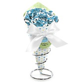 Baby Boy Dinosaur - Baby Shower Candy Bouquets with Frooties