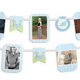 Baby Boy Dinosaur - Baby Shower Photo Garland Banners