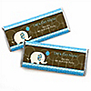 Boy Elephant - Personalized Birthday Party Candy Bar Wrapper Favors