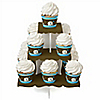Boy Elephant - Birthday Party Cupcake Stand and 13 Cupcake Wrappers