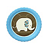 Boy Elephant  - Birthday Party Dessert Plates - 8 ct