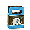 Boy Elephant - Personalized Birthday Party Mini Favor Boxes