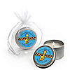 Giraffe Boy - Personalized Baby Shower Candle Tin Favors