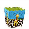 Giraffe Boy - Personalized Baby Shower Candy Boxes