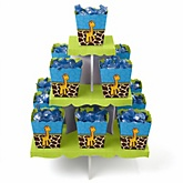 Giraffe Boy - Baby Shower Candy Stand & 13 Fill Your Own Candy Boxes